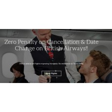 MakeMyTrip Offers and Deals Online - Zero Penalty on Cancellation & Date Change on British Airways