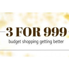 Deals, Discounts & Offers on Women Clothing - Now OR Never Offer : Buy 3 For Rs. 999 {Bundle Of Offers To Choose} + Rs. 150 - 200 Credits