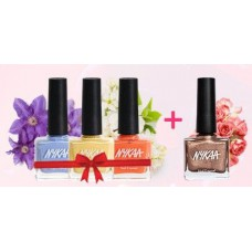 Nykaa Offers and Deals Online - Buy any 3 Nykaa Nail Enamels & Get 1 Shimmer Polish FREE
