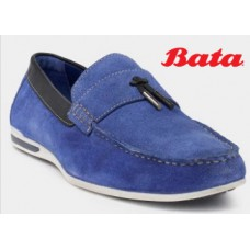 Abof Offers and Deals Online - Bata Men Blue Loafers at Flat 60% Off + Extra Rs.100 Off