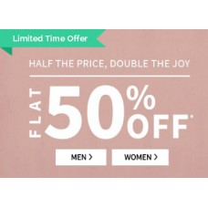 Ajio Offers and Deals Online - Grab Everything at Flat 50% Off From Rs. 200 + FREE Shipping