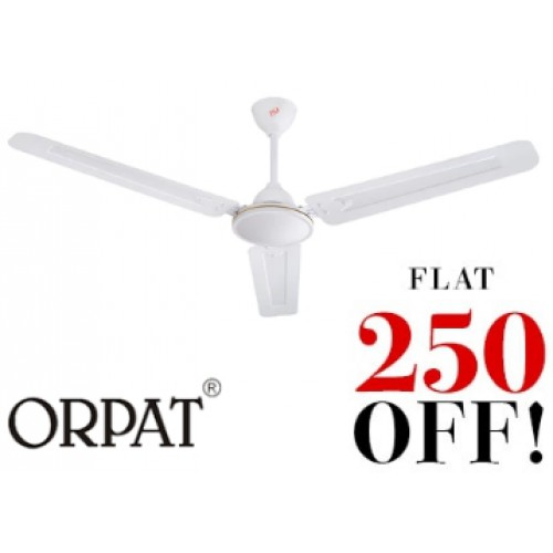 Orpat air flora 1200 mm white ceiling fan home appliances orpat deals discounts offers on home appliances orpat air flora 1200 mm white ceiling aloadofball Image collections