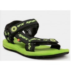 Abof Offers and Deals Online - Sparx Black & Green Sandals at Flat 50% Off + Extra Rs. 100 Off