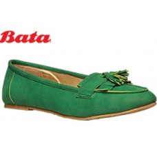 Bata Offers and Deals Online - BATA GREEN BALLERINAS at Flat Rs. 500 OFF + Free Shipping