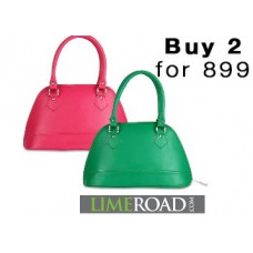 Deals, Discounts & Offers on Watches & Handbag - Buy Any 2 Women Bags at Just Rs. 899 + FREE Shipping