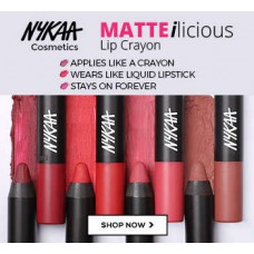 Nykaa Offers and Deals Online - Nykaa Matteilicious Collection