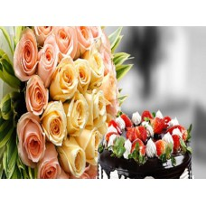 Ferns N Petals Offers and Deals Online - Flowers & Cakes Combo offer