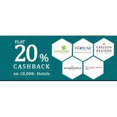 TravelGuru Offers and Deals Online - Flat 20% cashback on 10,000+ Hotels