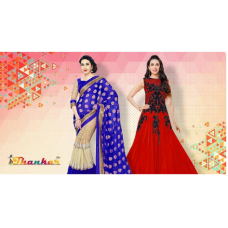 Deals, Discounts & Offers on Women Clothing - Min 70% off on Thankar Salwar Suit