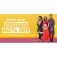 Jabong Offers and Deals Online - Minimum 40% Off on Ethinic Wears