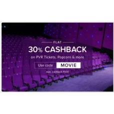 Nearbuy Offers and Deals Online - Flat 30% Off on PVR Tickets,Popcorn,and more