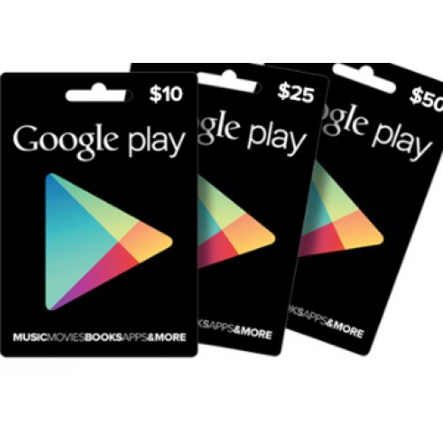 Get Flat Rs 15 Cashback on Google Play Gift Card + Free Gifts