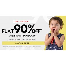 FirstCry Offers and Deals Online - FirstCry - Flat 90% OFF* on 5000+ Products (Diaper,Toys, Baby Care)