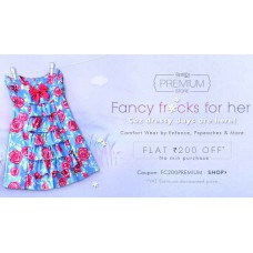 FirstCry Offers and Deals Online - Limited Stocks:- Get FLAT Rs. 200 Off on Fancy Frocks For Girls (No Min Purchase)