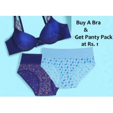 Zivame Offers and Deals Online - Buy any Bra & Get Panty Pack at Just Rs.1 + FREE Shipping