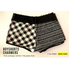 Clovia Offers and Deals Online - 2 Boyshorts for Rs.499