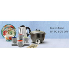 Snapdeal Offers and Deals Online - Best in Dining Upto 60% offer
