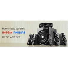 Snapdeal Offers and Deals Online - Upto 40% offer on Home Audio Systems