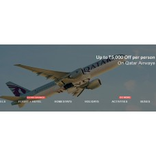 Yatra - Flights Offers and Deals Online - Upto Rs. 5000 off per person on Qatar Airways to Europe or US