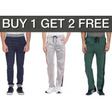 LimeRoad Offers and Deals Online - Men's Track Pants at Buy 1 Get 2 FREE + Free Shipping