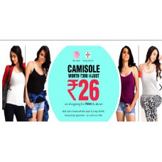 Clovia Offers and Deals Online - Camisole worth Rs.399 @ Just Rs.26