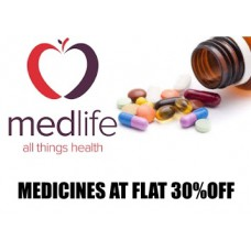 Medlife Offers and Deals Online - New Users :- Buy Medicines and Get FLAT 30% off on 1st ORDER