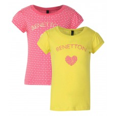 Snapdeal Offers and Deals Online - Flat 40% off on United Colors of Benetton Pack Of 2 T-Shirts