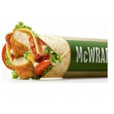 Deals, Discounts & Offers on Food and Health - Get Saucy Wrap Mc Grill Food of your choice FREE On order of Rs.189 or above