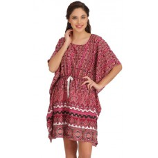 Clovia Offers and Deals Online -  PRINTED CREPE KAFTAN OFFER