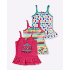 Ajio Offers and Deals Online - Pack of 3 Spaghetti Tops at Just Rs. 399