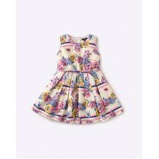 Ajio Offers and Deals Online - Flat 30% off on Sleeveless Floral Print Dress
