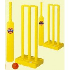 Rediff Shopping Offers and Deals Online - Kids Plastic 8 Piece Cricket Set With Stumps And Ball at Just Rs. 310