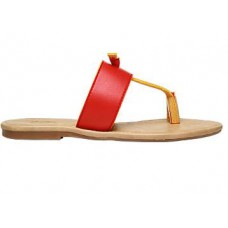 Deals, Discounts & Offers on Foot Wear - Bata Red Chappals For Women at Just Rs. 249 + Free shipping