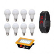 Infibeam Offers and Deals Online - Flat 45% off on Vizio 10 Led Bulbs With Free 18 LED Emergency Light