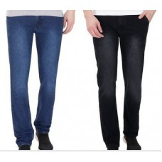 Naaptol Offers and Deals Online - Pack of 2 Pelican Slim Fit Stretchable Jeans For Men_Pjblkble