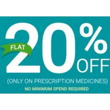 Netmeds Offers and Deals Online - Flat 20% Off On Prescription Medicines + Extra 5% Cashback On Prepaid Orders