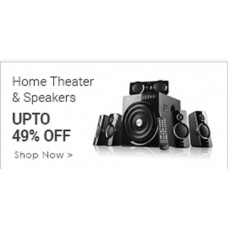 Infibeam Offers and Deals Online - Upto 40% offer on Home Theaters and Speakers