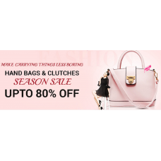 Infibeam Offers and Deals Online - Upto 80% off on Handbags & Clutches