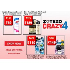 Zotezo Offers and Deals Online - Products Starts at Rs. 15 + Free Shipping