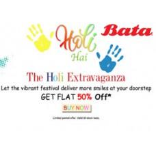 Deals, Discounts & Offers on Foot Wear - Get Flat 50% OFF on All Bata Footwears Range