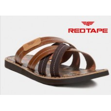 Abof Offers and Deals Online - Red Tape Men Brown Leather Sandals at Flat 60% Off + Extra Rs.100 Off