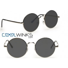 Coolwinks Offers and Deals Online - Graviate Silver Full Frame Round Sunglasses at Just Rs. 11 (Pay for Lens & Get Extra 10% OFF)