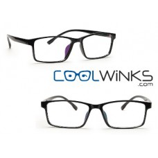 Coolwinks Offers and Deals Online - Graviate Graphite Full Frame Square Eyeglasses at Just Rs. 5