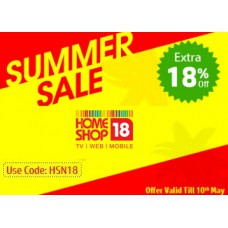 Homeshop18 Offers and Deals Online - Summer Sale:- Get Up to 80% OFF + Extra 18% OFF on All Products