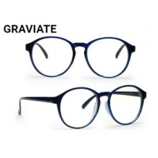 Coolwinks Offers and Deals Online - Graviate Blue Full Frame Round Eyeglasses for Men and Women at Flat 99% Off