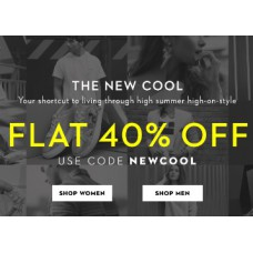 Koovs Offers and Deals Online - Flat 40% Off Apparel & Accessories From Rs. 177 + FREE Shipping