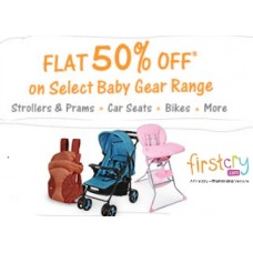 FirstCry Offers and Deals Online - Get Flat 50% OFF on Bestselling Baby Gear Range (Stroller, Bikes & More)