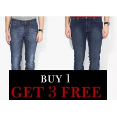 Jabong Offers and Deals Online - Loot Deal : Grab Men's Jeans at Buy 1 Get 3 Free + FREE Shipping