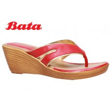 Bata Offers and Deals Online - BATA RED CHAPPALS FOR WOMEN at Flat 50% Off