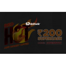 MobiKwik Offers and Deals Online - Get Upto Rs.200 SuperCash on Add Money